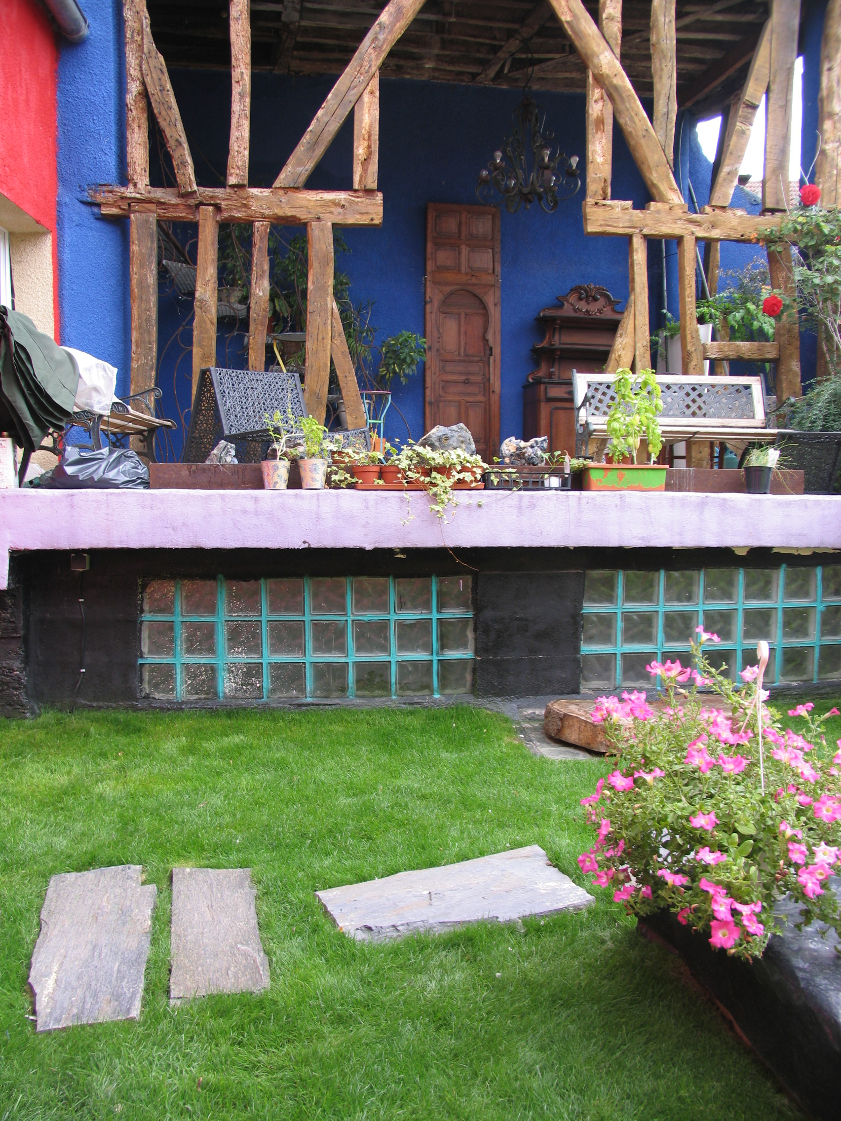 Décorer Un Mur De Jardin la terrasse